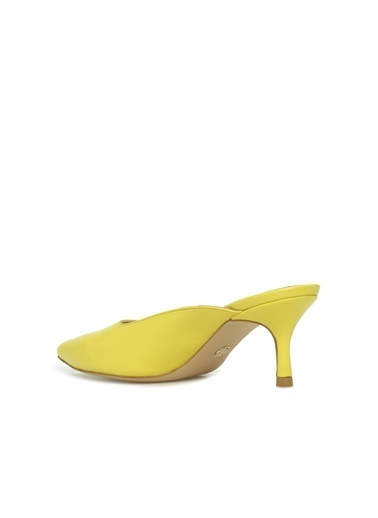 Divarese 5024219 Kadın Terlik Sarı